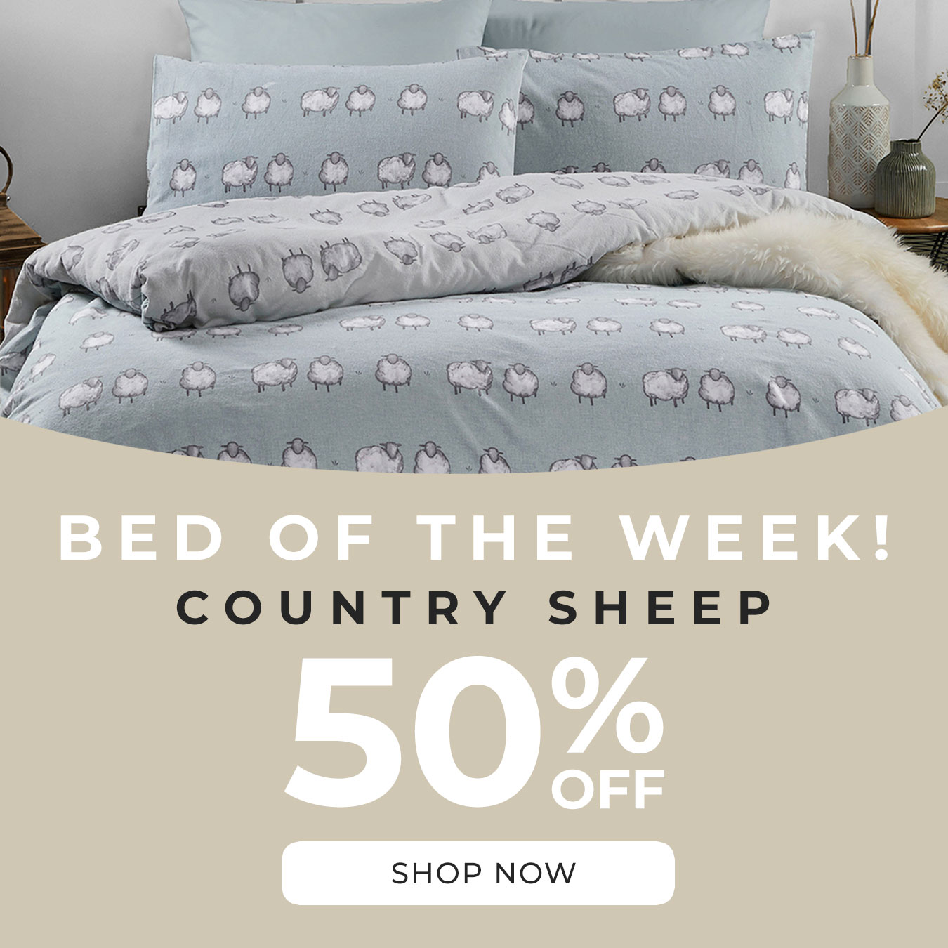 Bed of the week