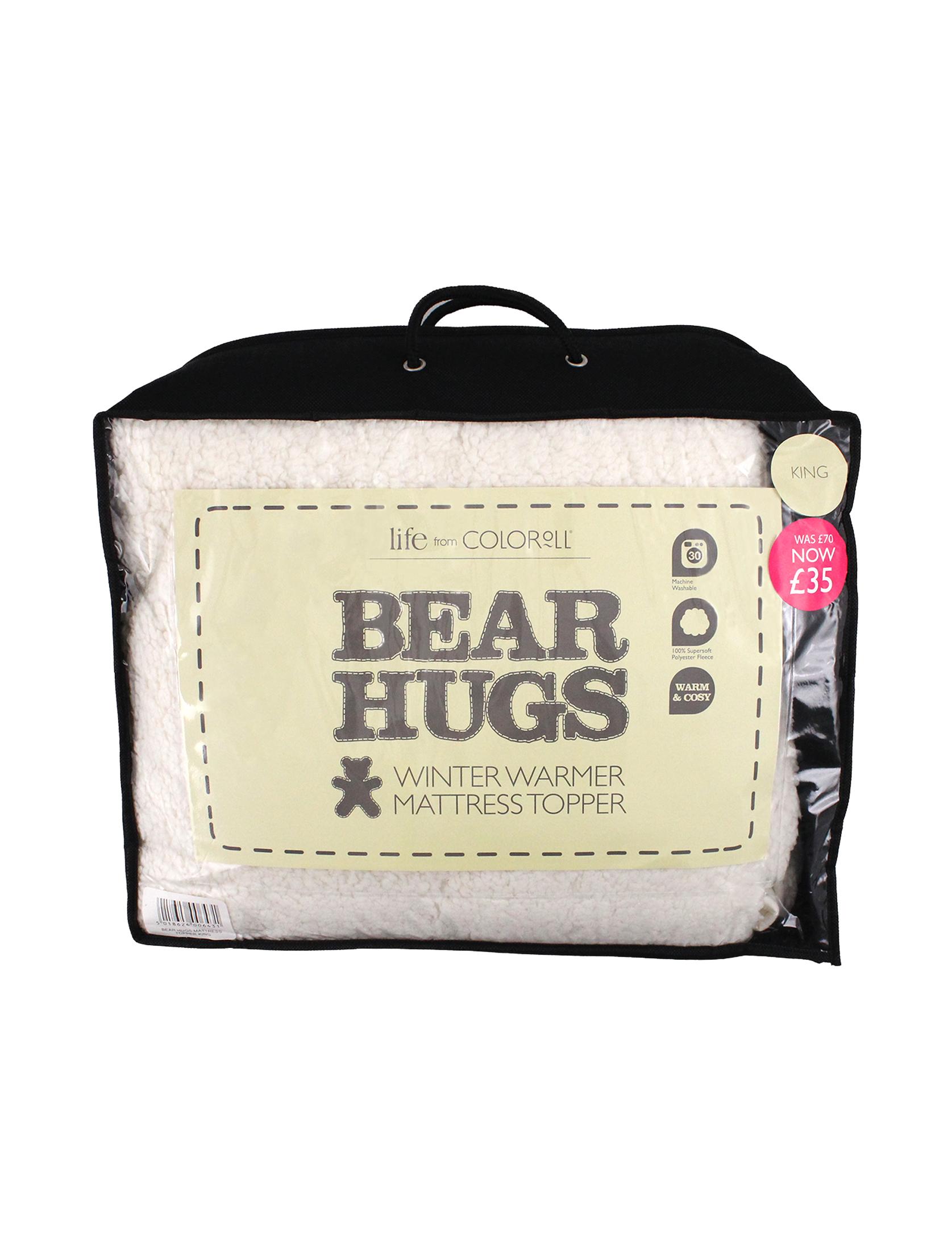 Bear Hugs Plush Matress Topper
