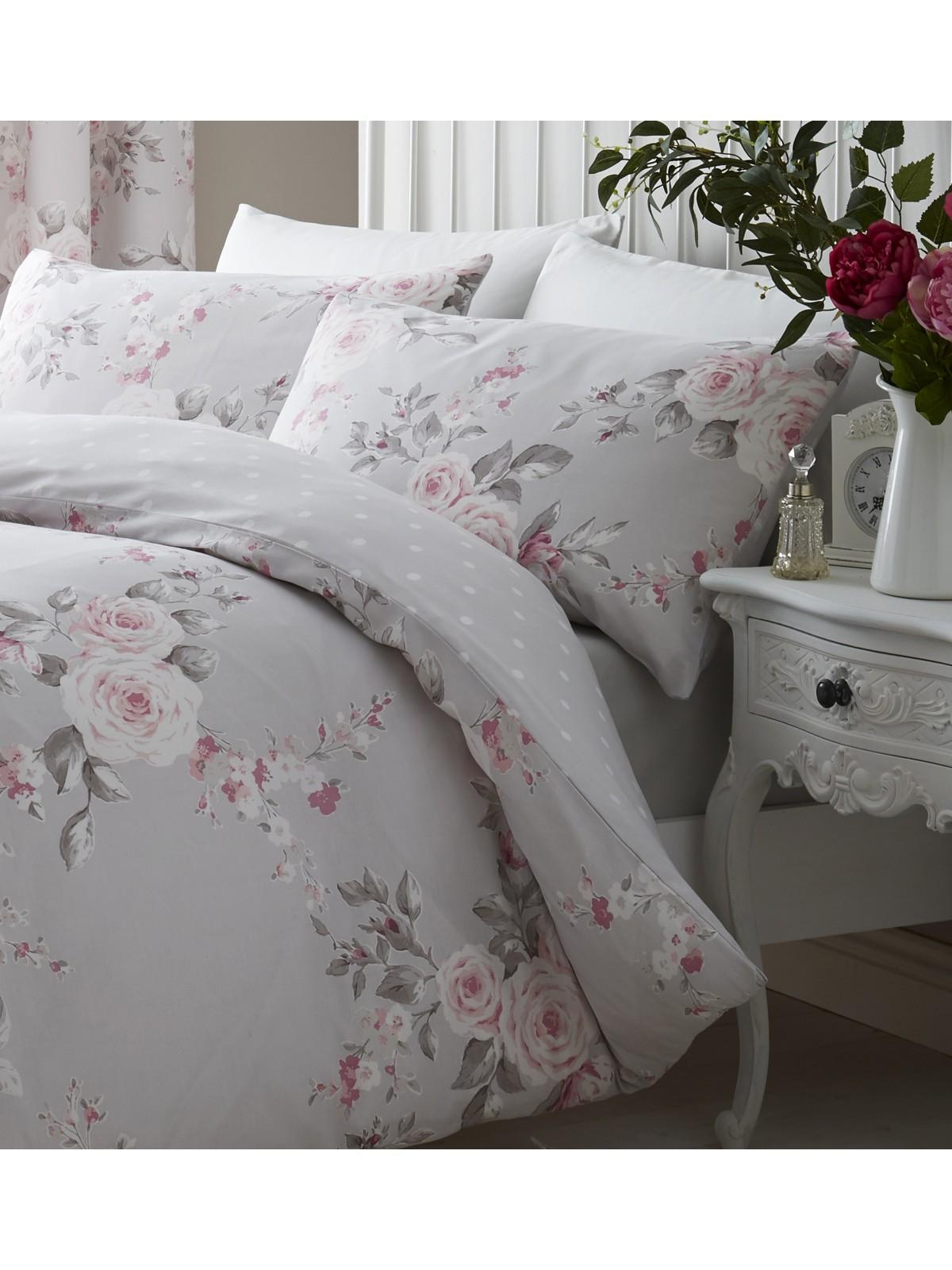 0db2718129d Catherine Lansfield Canterbury Bedding Collection Grey