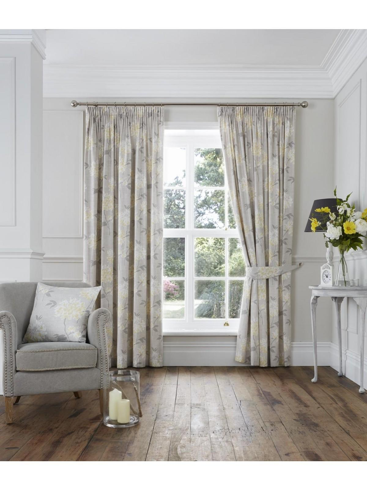 Rosamund Pencil Pleat Curtains