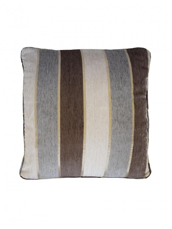 Elegant Stripe Cushion Natural