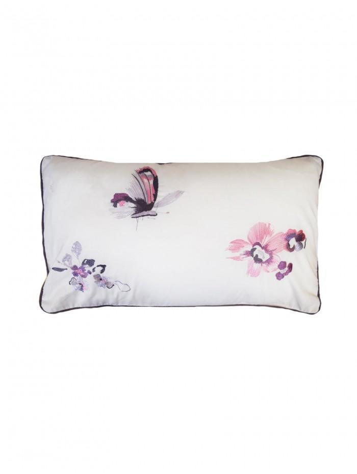 Vintage Bloom Cushion Heather