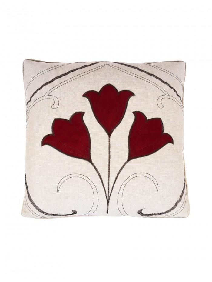 Bampton Cushion Red
