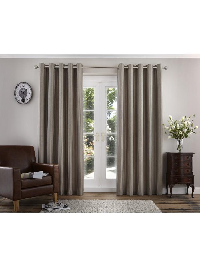 Addison Eyelet Curtains Natural