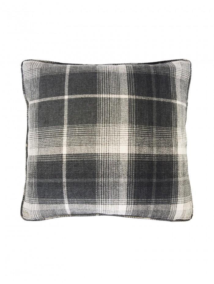 Large Archie Cushion Grey