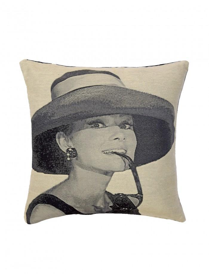 Audrey Icon Cushion Grey