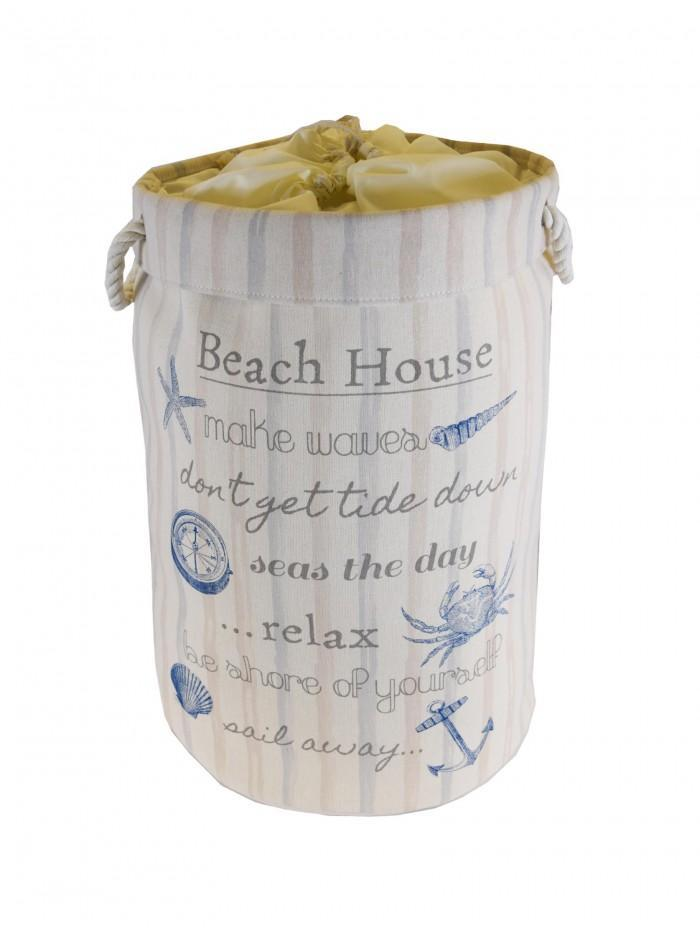 Life From Coloroll Beach House Laundry Bag Blue