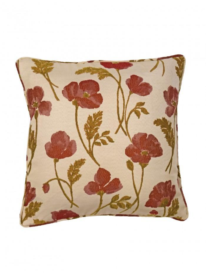 Belmont Cushion Red