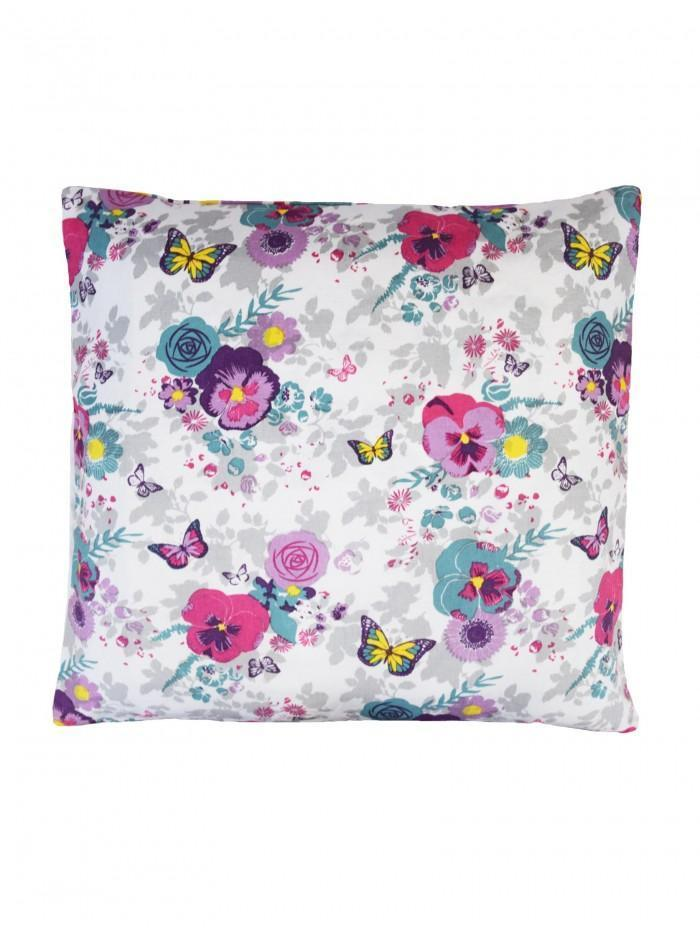Picnic Print Cushion Pink