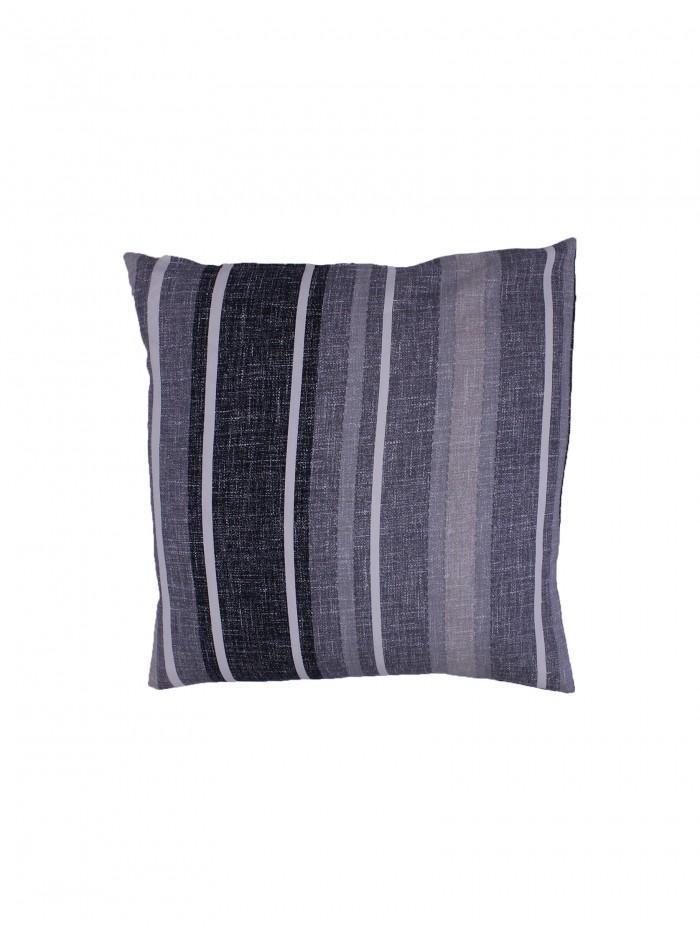 Brooklyn Stripe Cushion Grey
