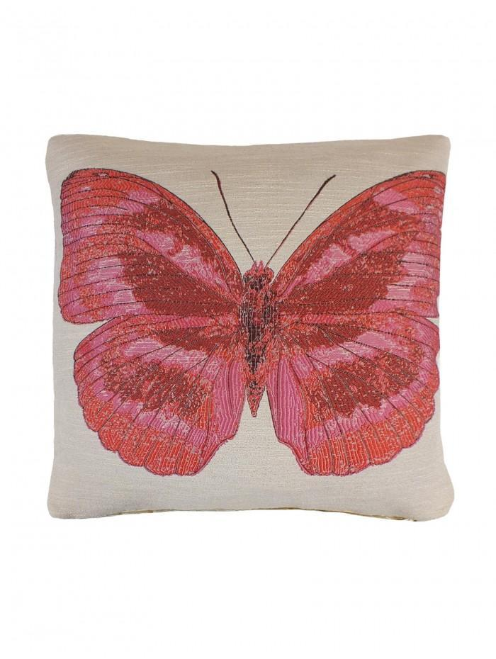 Butterfly Cushion Pink