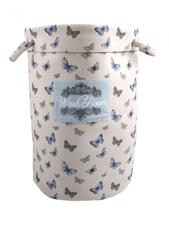 Washroom Butterfly Bathroom Laundry Bag