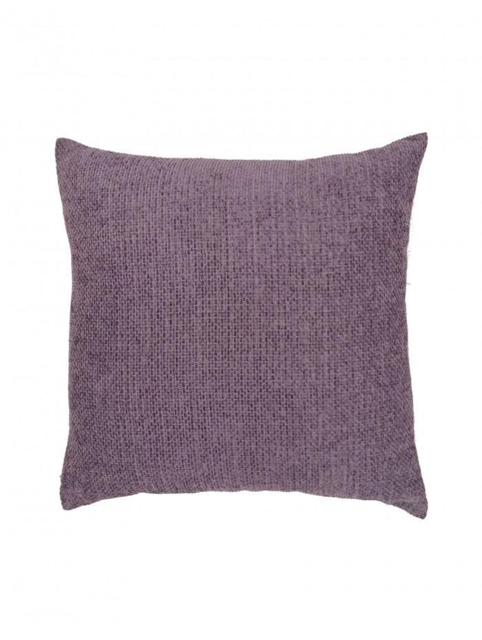 Plain Chenille Cushion Heather