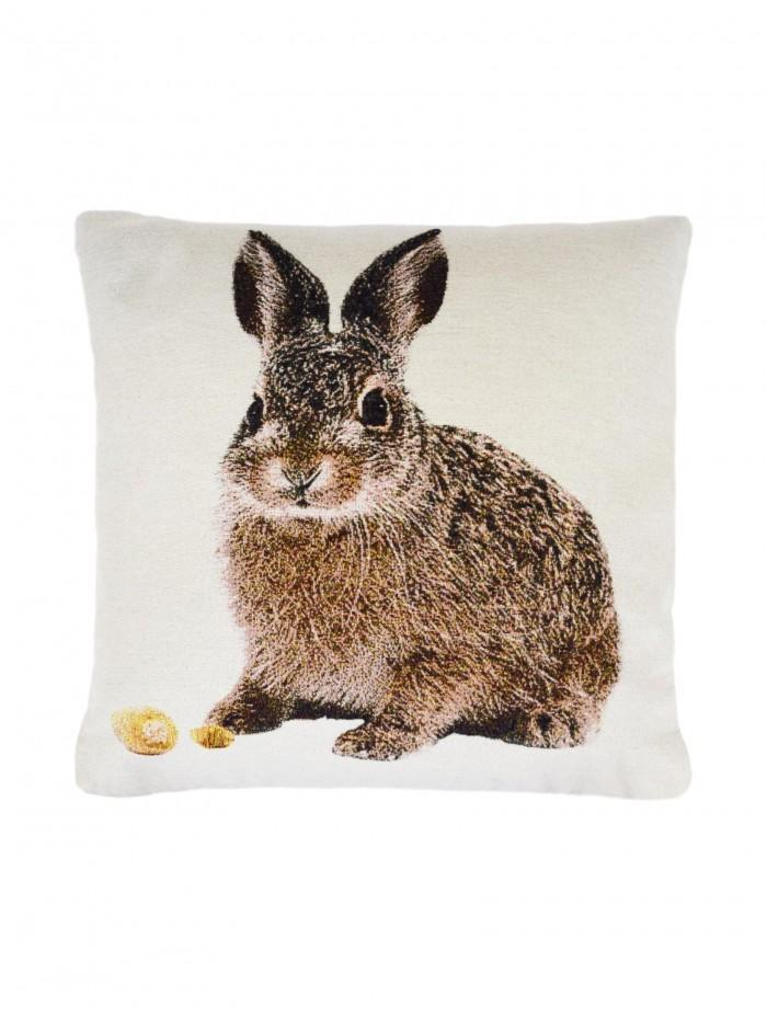 Cute Rabbit Cushion Natural
