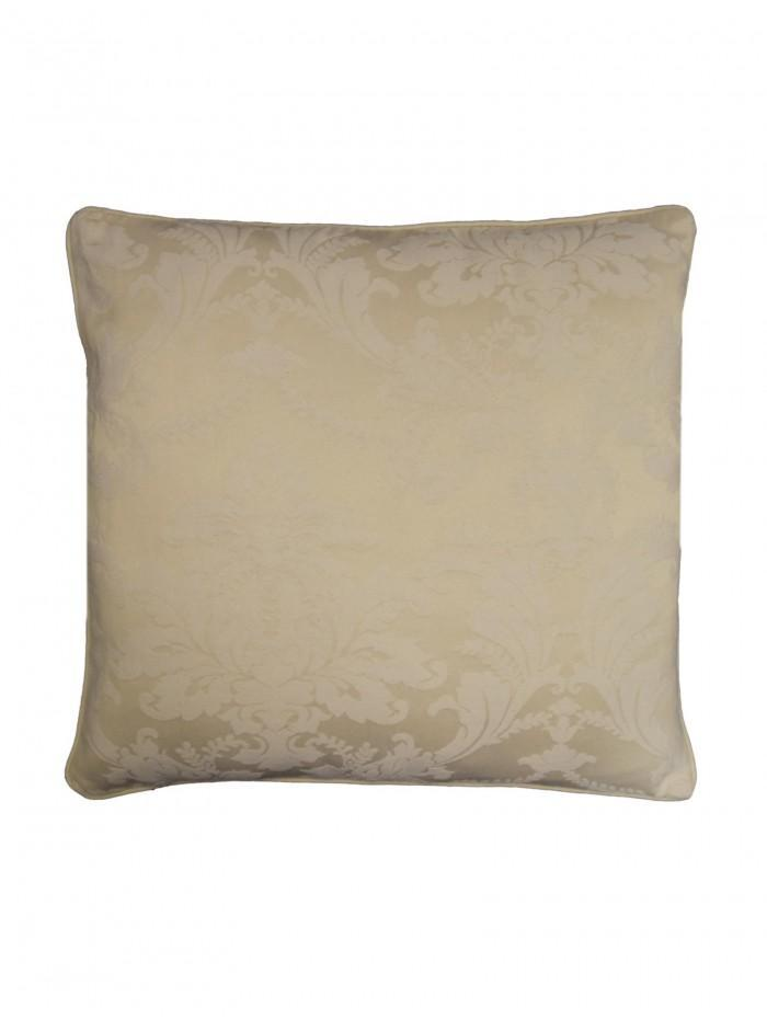 Diamond Damask Cushion Natural