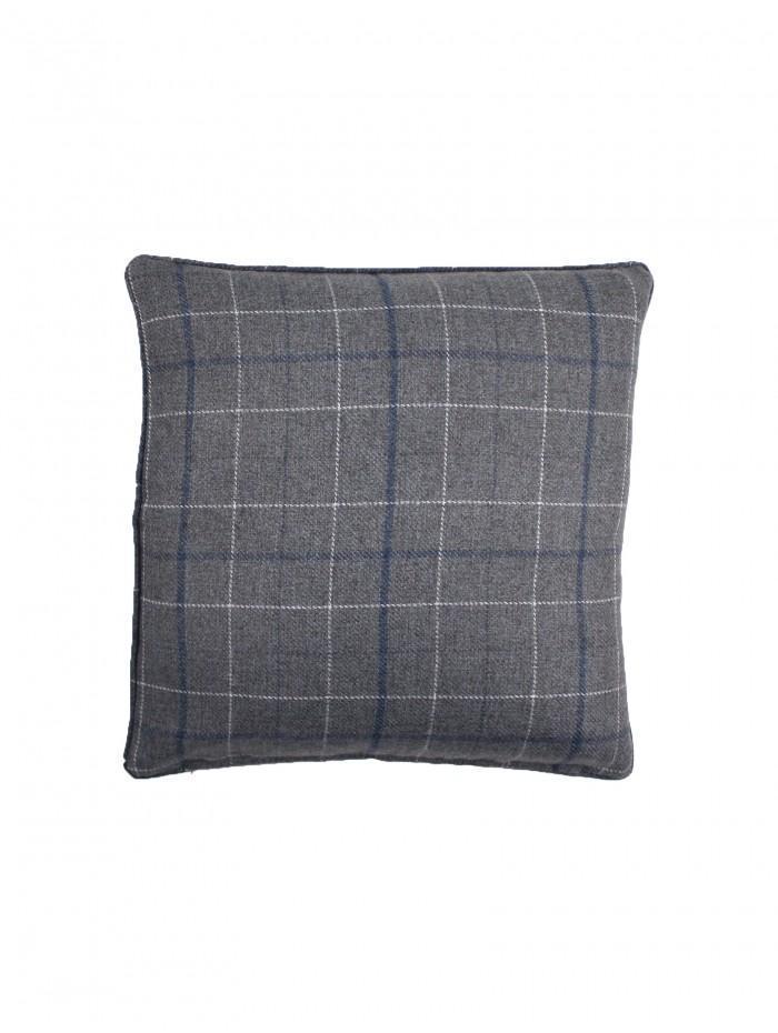 Dunsmore Check Cushion Grey