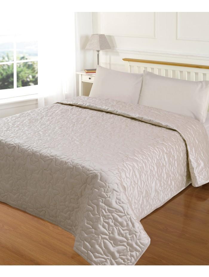 Evie Butterfly Bedspread Cream