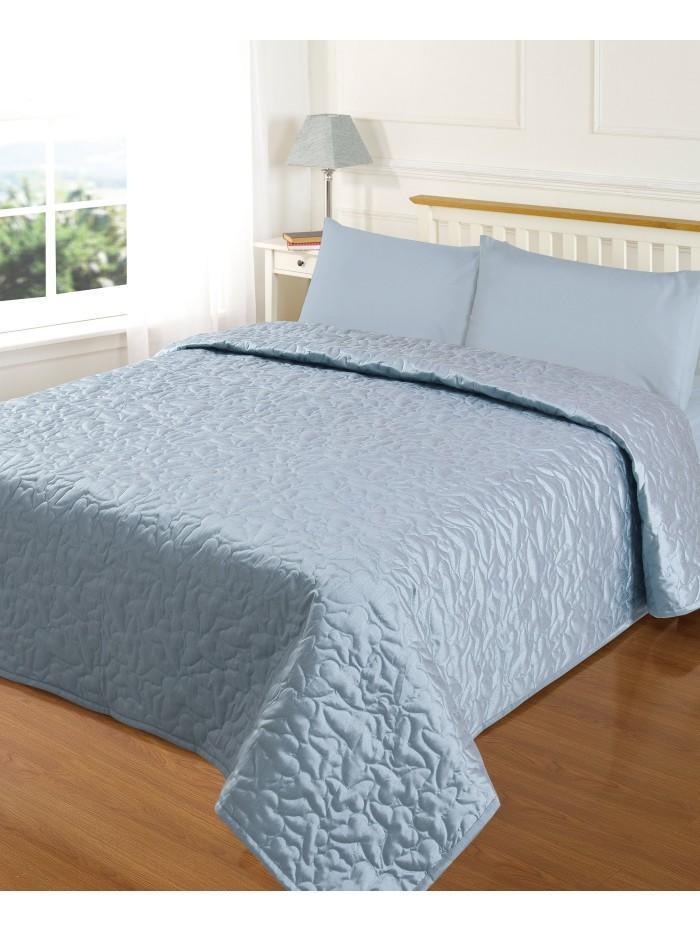 Evie Butterfly Bedspread Duckegg