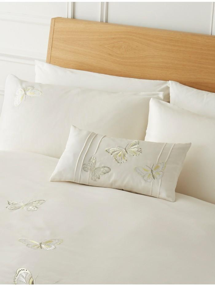 Flutterby Cushion Green