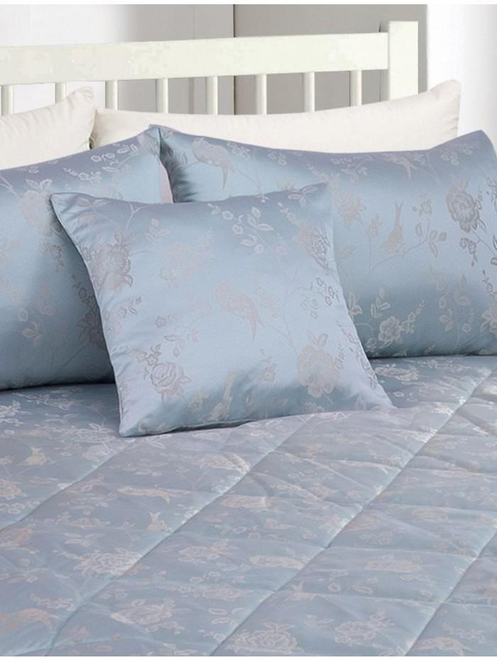 Genevieve Floral Jacquard Cushion