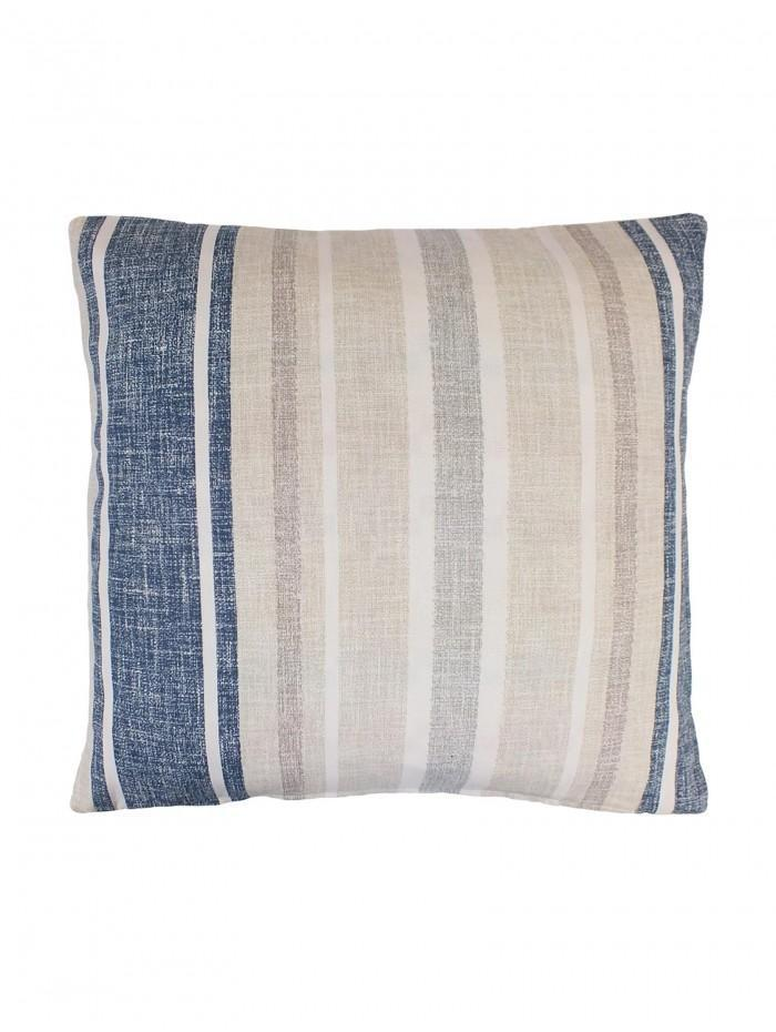 Harbour Stripe Cushion Navy