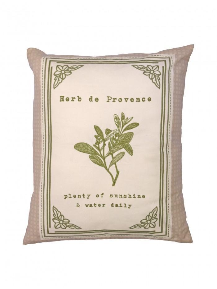 Herb De Provence Cushion Green