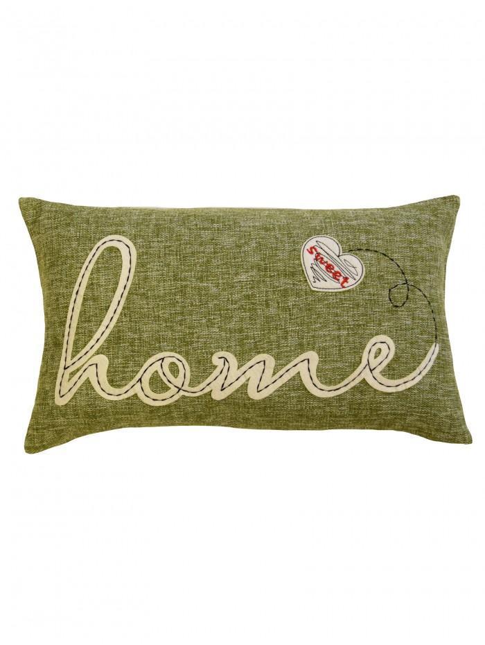 Home Cushion Green