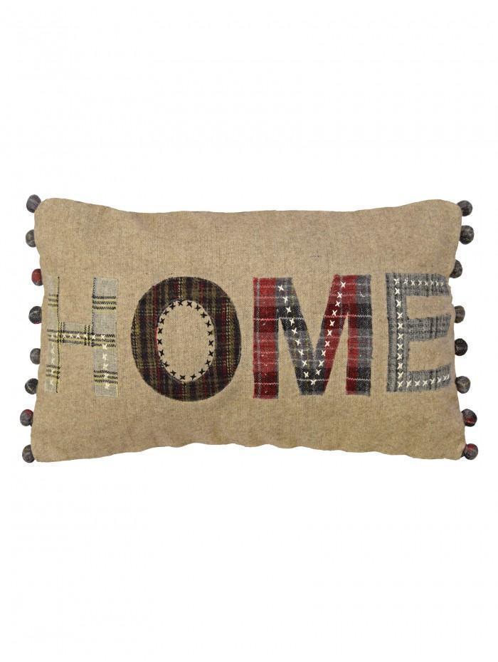 Home Cushion Red