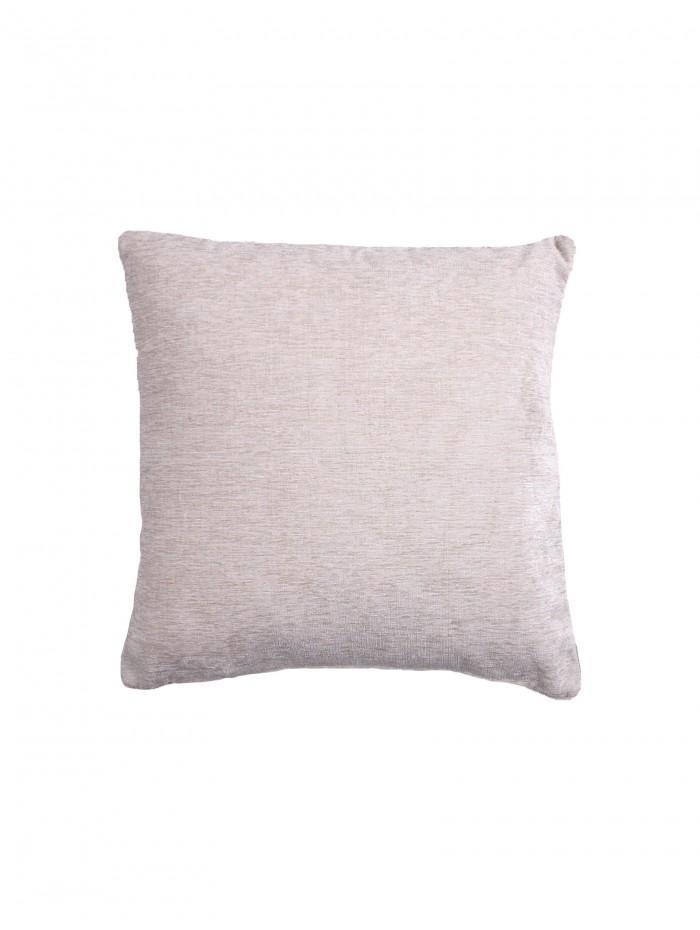 Large Luxury Chenille Cushion Cream