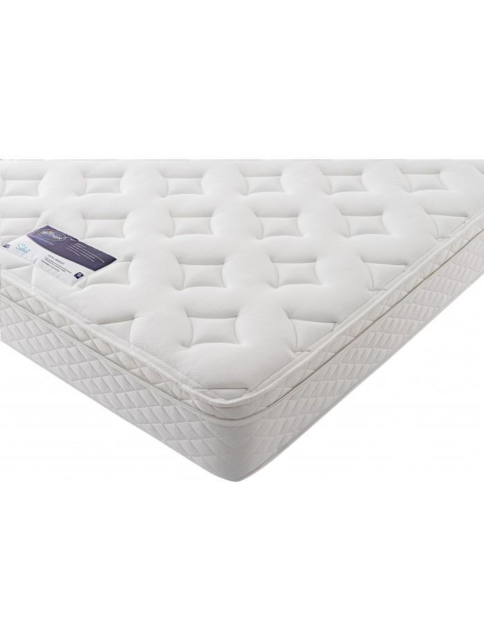 silentnight miracoil memory cushion top vermont mattress. Black Bedroom Furniture Sets. Home Design Ideas