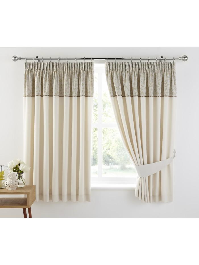 Joanna Leaf Curtain Natural