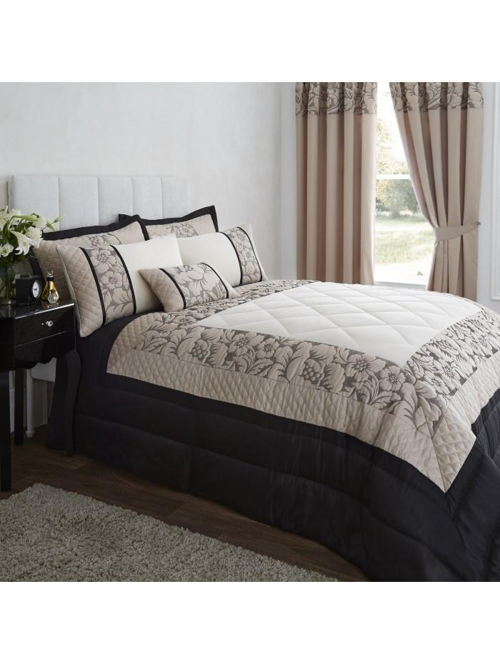 Juliette Bedspread Black