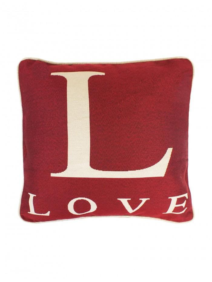 L For Love Cushion Red