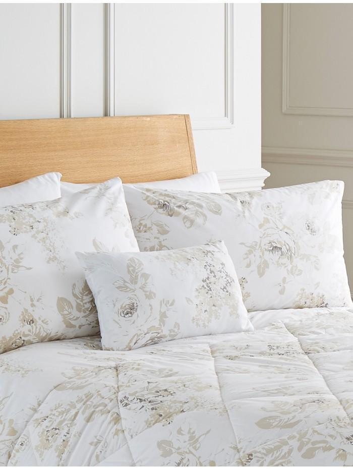 Layla Floral Cushion White