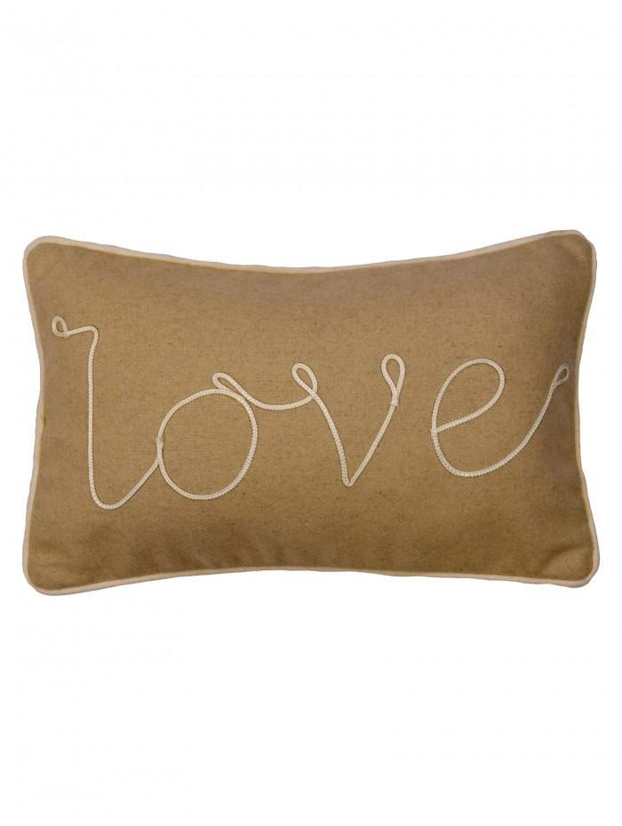Love Cushion Natural