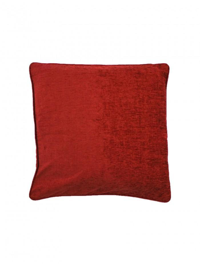 Large Luxury Chenille Cushion Wine