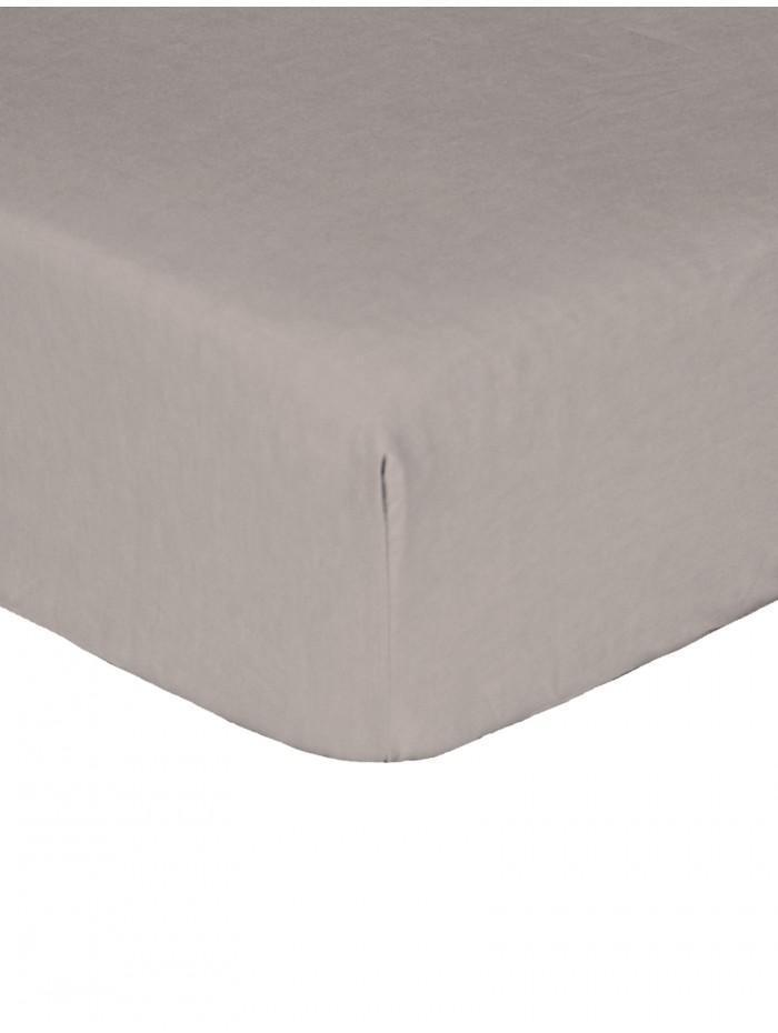 Luxury Percale 200 Thread Count Box Pleat Valance Sheet Grey