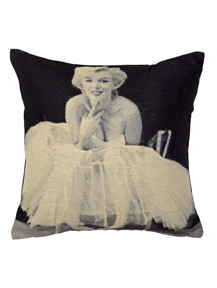 Marilyn Icon Cushion Grey