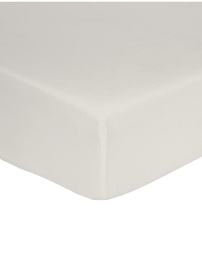 Non Iron  Box Pleat Valance Sheet  Cream