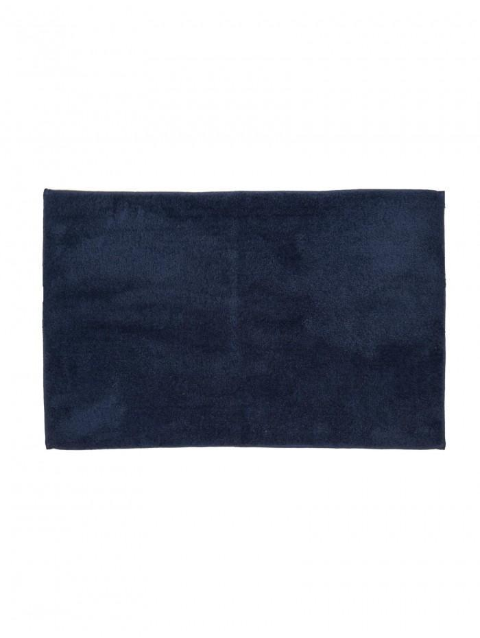 Life From Coloroll Luxurious Plush Bathmat Navy