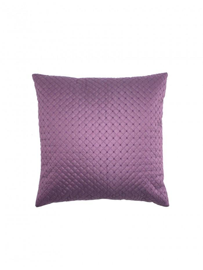 Quilted Cuff Cushion Heather