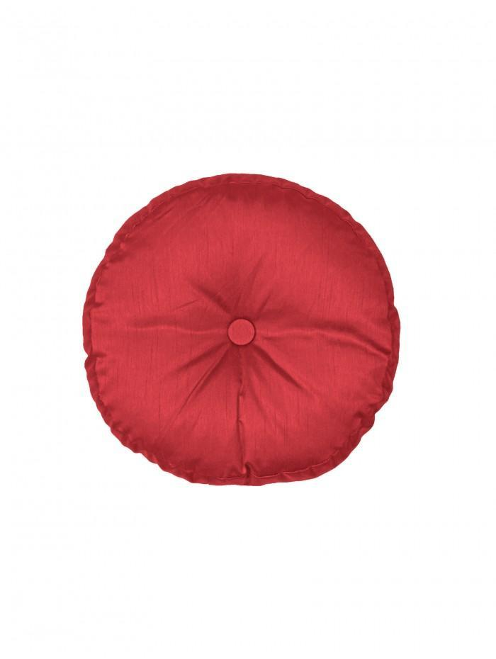 Round Cushion Red