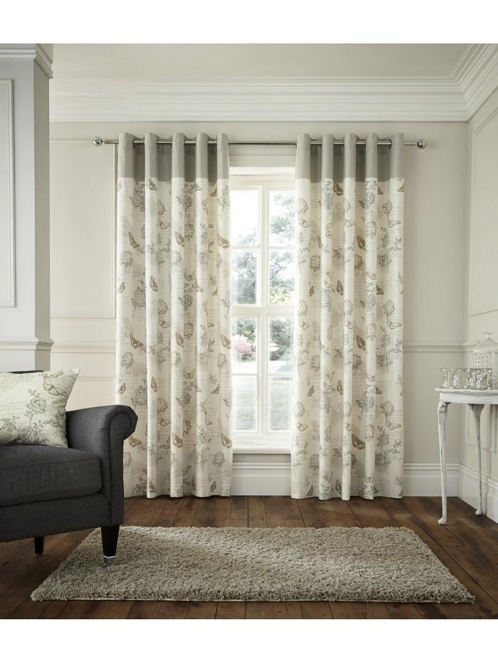 Sentiment Eyelet Curtains Natural