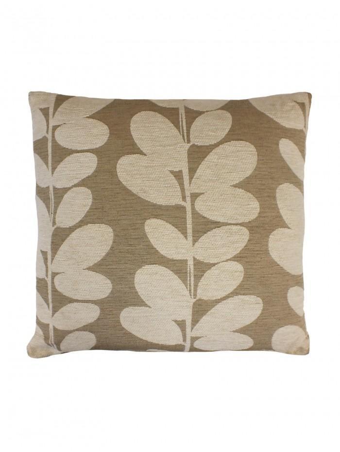 Silhouette Leaf Cushion Natural
