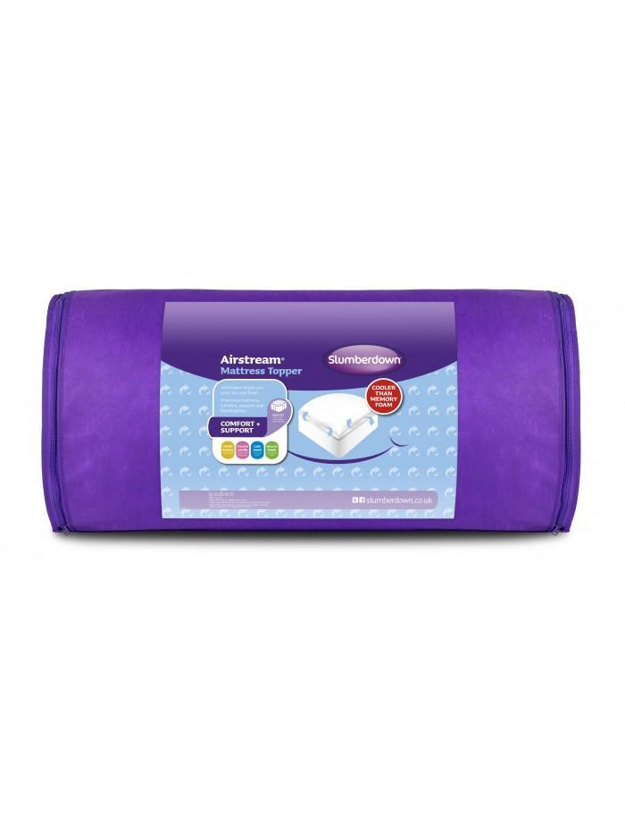 Slumberdown Traditional Memory Foam Pillow Review : Slumberdown Airstream Topper Ponden Home