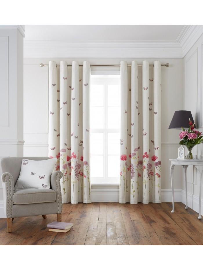 Summer Garden Eyelet Curtains