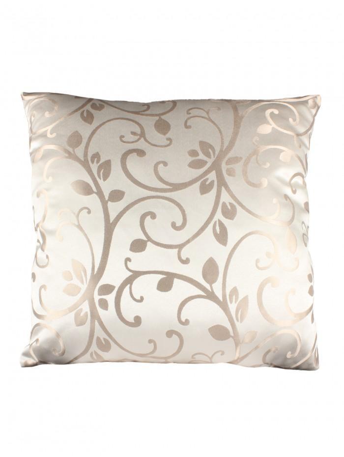 Swirl Jacquard Cushion Natural