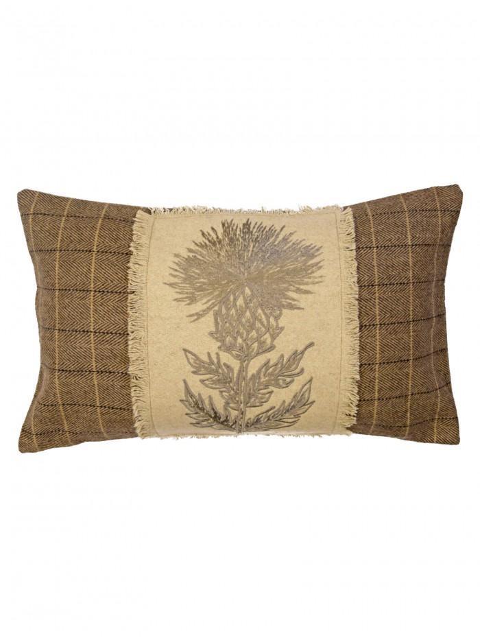 Thistle Cushion Natural