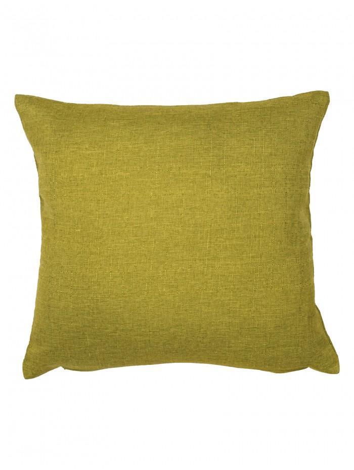 Twill Cushion Lime