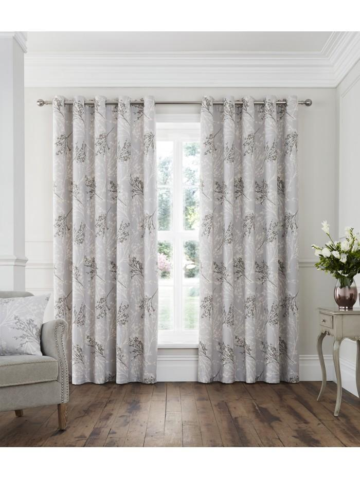 Willow Eyelet Curtains Taupe